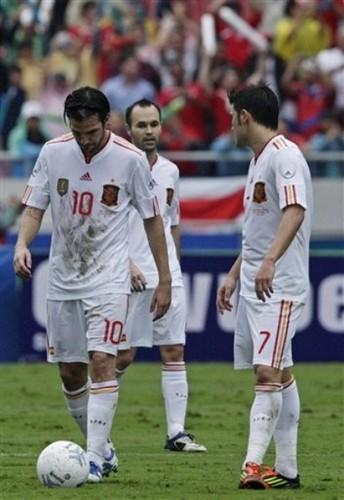 Cesc Fabregas - Spain (2) v Costa Rica (2)