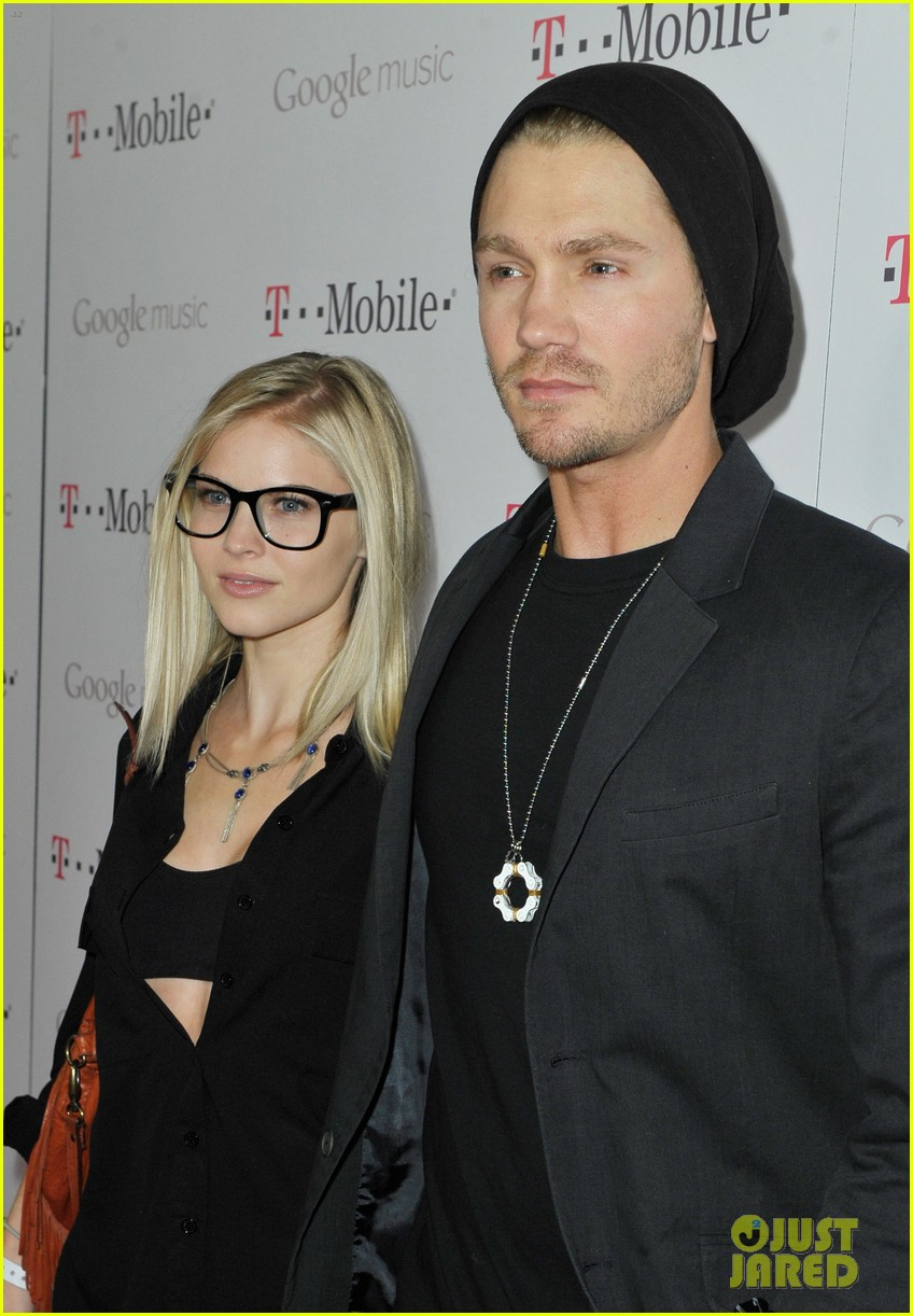 Chad Michael Murray & Kenzie Dalton: Google Music Launch! - chad-michael-murray photo