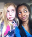 China Anne and Sierra in the car - china-anne-mcclain icon