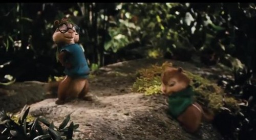 Alvin and the Chipmunks 3: Chip-Wrecked वॉलपेपर probably containing a गीली घास entitled Chip-wrecked Trailer Screenshots