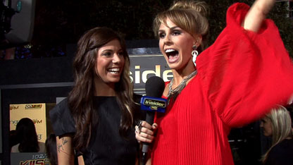Christina Perri and Keltie Colleen @ Breaknig Dawn world premiere
