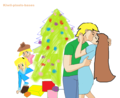 Christmas kiss - total-dramas-kids photo