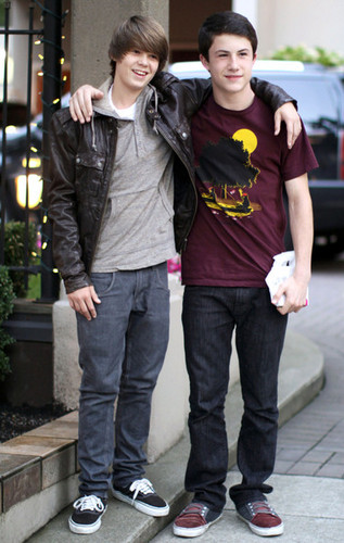 Colin Ford And Dylan Minnette Out And About In Vancouver
