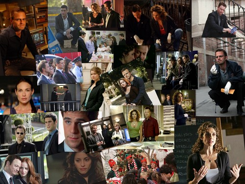 Collage of Images - csi-ny Fan Art