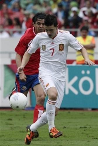 David উদ্যানবাটি - Spain (2) v Costa Rica (2)