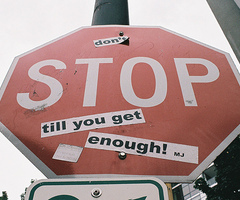 Don't Stop Till te Get Enough!