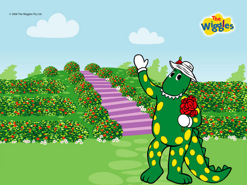 THE WIGGLES fondo de pantalla possibly with anime entitled Dorothy The Dinosaur