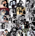 Elvis and Priscilla collage - priscilla-presley fan art