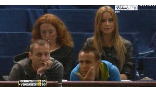 Ester Satorova match Berdych vs Verdasco
