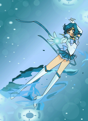 Bakugan and Sailor Moon! wallpaper possibly with animê called Eternal Sailor Mercury