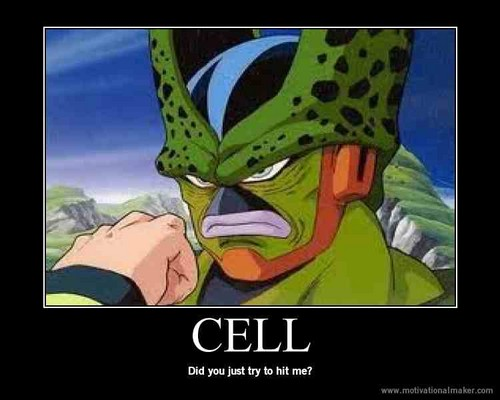 Funny cell - dragon-ball-z Photo