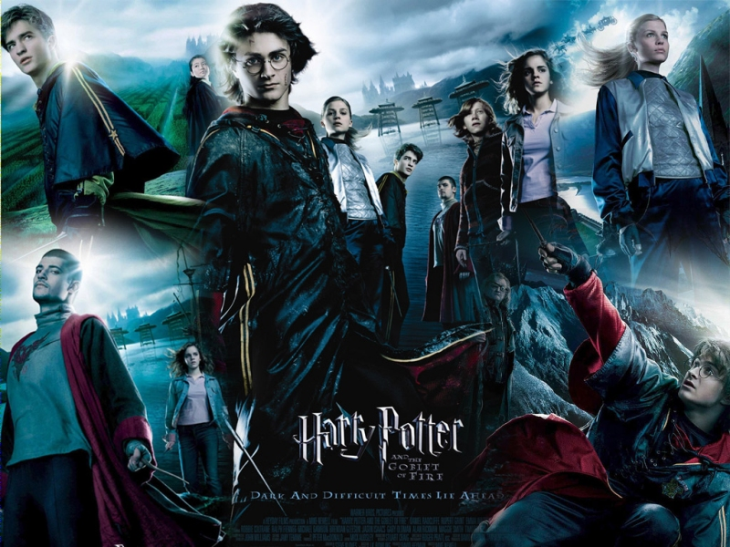 Harry Potter & the goblet of fire GOF