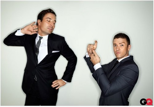 GQ Photoshoot with Jimmy Fallon