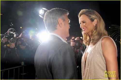 George Clooney & Stacy Keibler: 'Descendants' Duo
