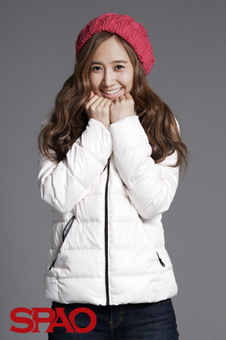 Girls' Generation Yuri SPAO 2011 F/W