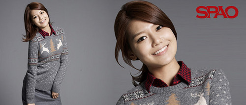 Girls' Generation Sooyoung SPAO 2011 F/W