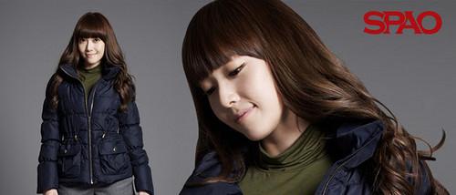Girls' Generation Jessica SPAO 2011 F/W