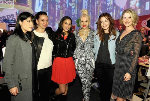 Gwen Stefani Celebrates Launch Of Her Harajuku Mini For Target