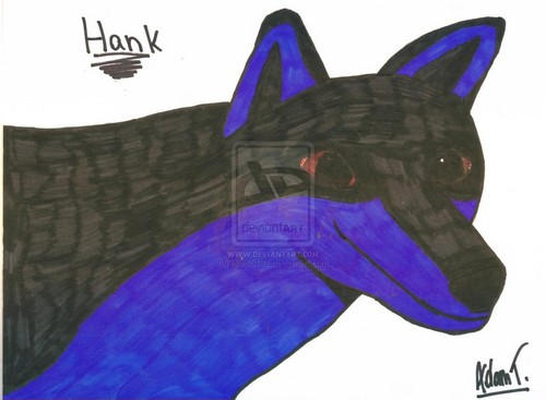Hank the भेड़िया