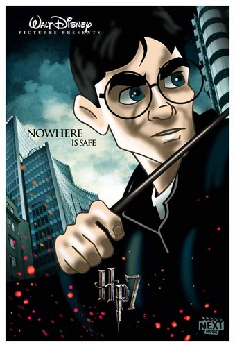 Harry Potter gets Disney-fied
