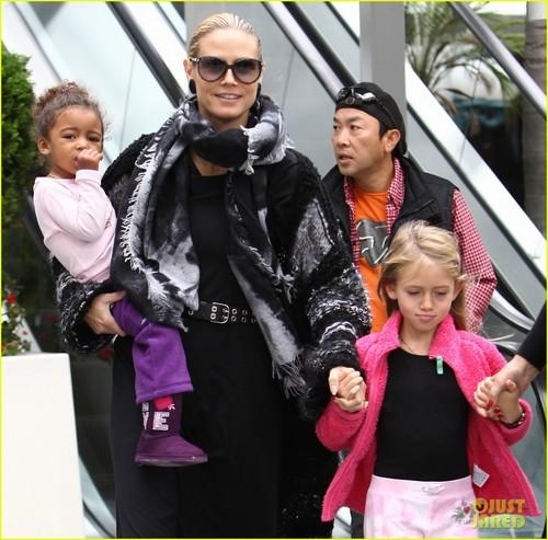 Heidi Klum: Saturday Ballet with Leni & Lou!