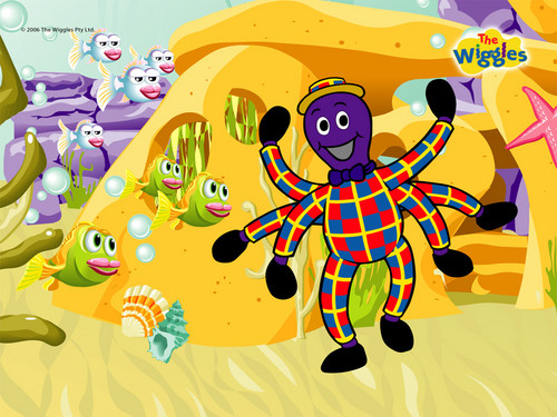 THE WIGGLES fondo de pantalla titled Henry The Octopus