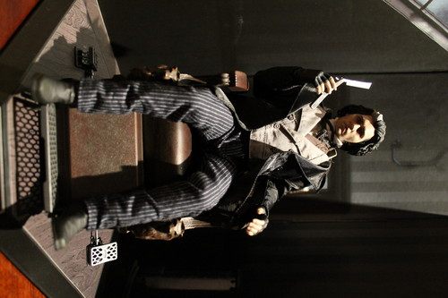 Hot Toys Sweeney Todd Figure