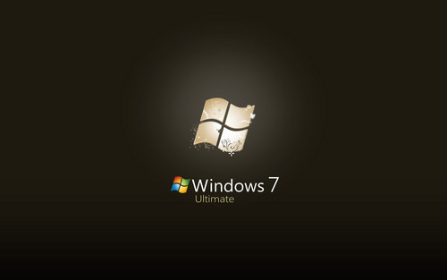 Windows 7 壁紙 possibly with a lampshade entitled Hot Windows 7 Background