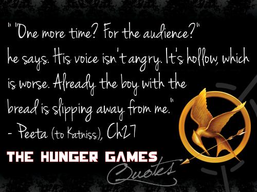 Hunger Games উদ্ধৃতি