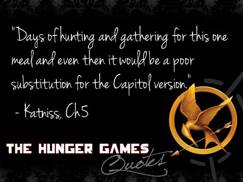 Hunger Games kutipan