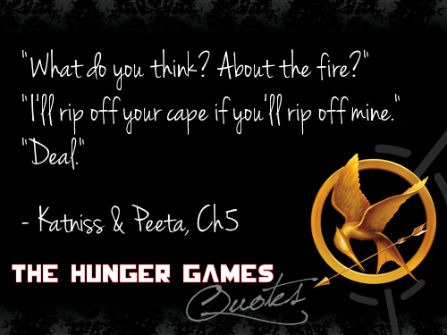 Hunger Games nukuu