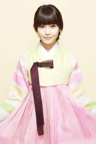 आई यू Hanbok