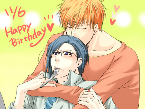 Ichigo and Uryuu
