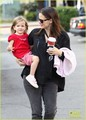 Jennifer Garner and Seraphina, on Tuesday (November 15) as they make a Starbucks.  - jennifer-garner photo