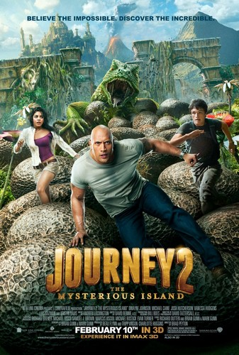 Journey 2 - The Mysterious Island Poster