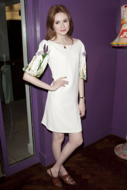 Karen Gillan @ Inadmissable Evidence after party 18th October 2011