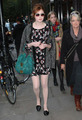 Karen Gillan candid in London Covent Garden Oct 2011