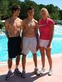 Kvitova and boys