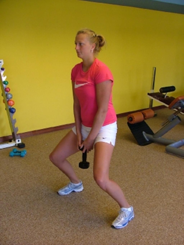 Kvitova fitness 2