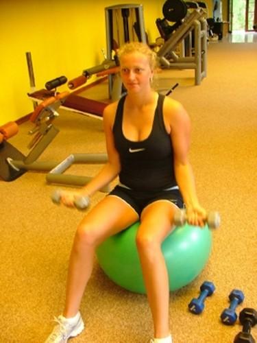 Kvitova sexy fitness
