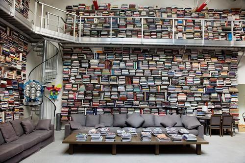 La Bibliothèque de Karl Lagerfeld