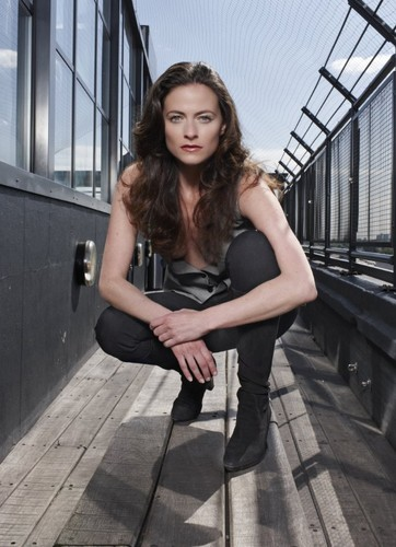 zanhar1 壁紙 possibly containing a street, a carriageway, and a hip boot titled Lara Pulver ♥