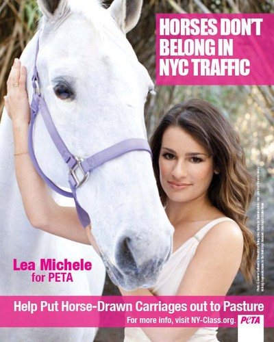 Lea Michele for peta2
