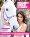 Lea Michele for peta2 - animal-rights photo