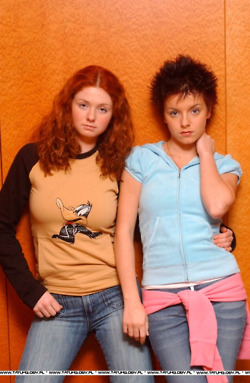 Lena and Yulia