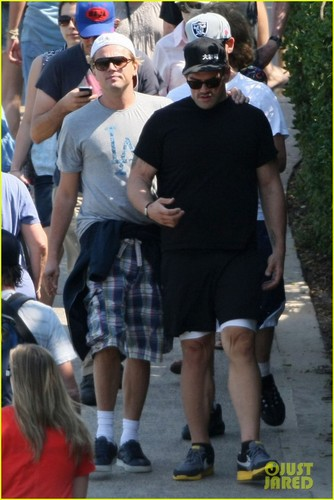 Leonardo DiCaprio: Sydney Sightseer!