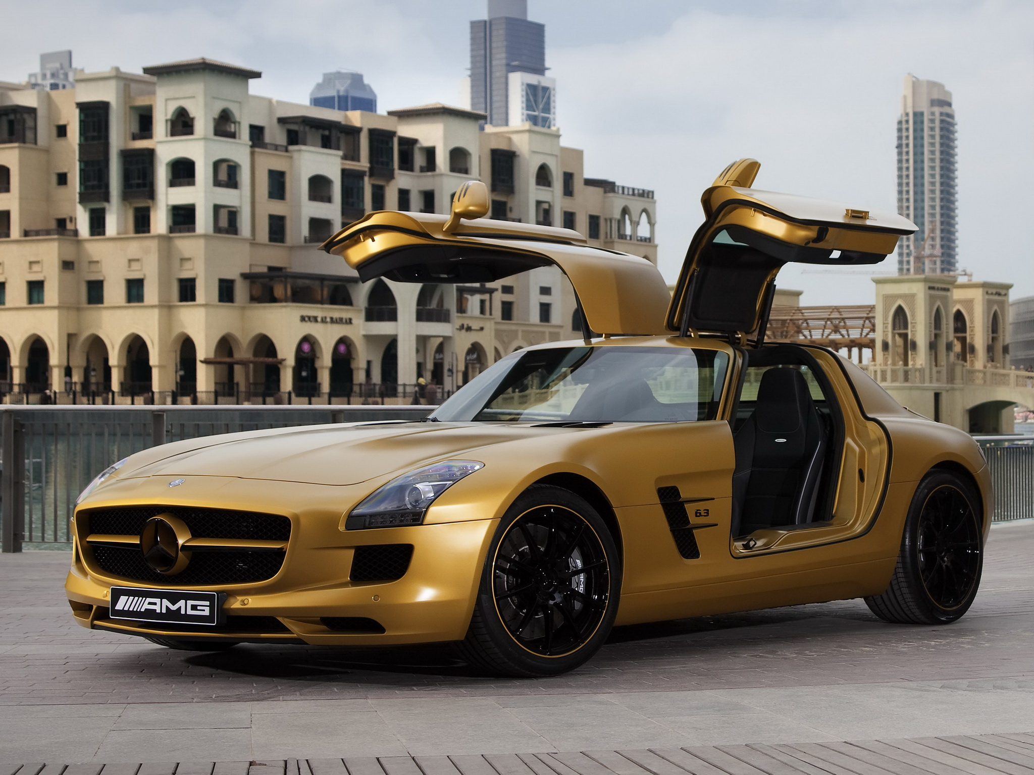 Mercedes Benz Images Mercedes Benz Sls Amg Desert Gold