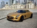 MERCEDES - BENZ SLS AMG DESERT GOLD - mercedes-benz wallpaper
