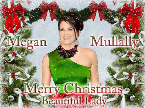 Megan Mullally - Merry Christmas, Beautiful Lady