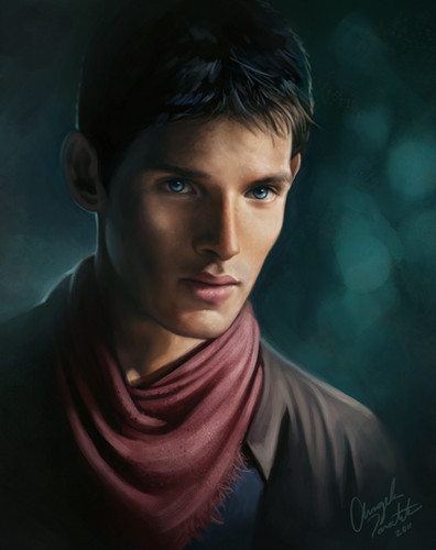 Merlin (CEO of ARWEN Shippery) Digital Painting
